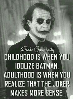 Most memorable quotes from Joker, a movie based on film. Find important Joker Quotes from film. Joker Quotes about who is the joker and why batman kill joker. Check InboundQuotes for Best Joker Quotes, Epic Quotes, Dark Quotes, Badass Quotes, Wisdom Quotes, True Quotes, Great Quotes, Motivational Quotes, Funny Quotes