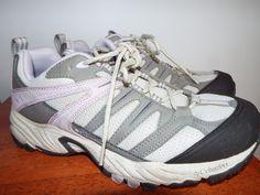 Columbia Karasi Trail Shoe Athletic Womens size 9.5 Gray& Lilac #Columbia #WalkingHikingTrail