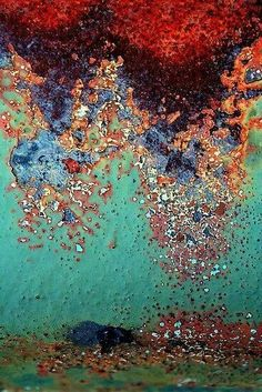 Beauty in Decay - Colourful Rust, pattern, colour & texture inspirations