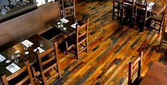 Windfall Lumber reclaimed flooring