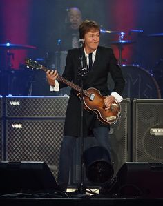 Paul McCartney headlines on the Land's End stage during the 6th annual Outside Lands Music and Arts Festival in Golden Gate Park in San Francisco, Calif., on Friday, Aug. 9, 2013. (Jane Tyska/Bay Area News Group)