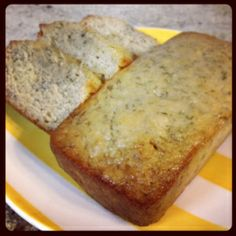 Banana Bread, I added some canned berries and it was wonderful.