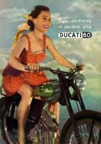 Girl on an old motorcycle: Post your pics! Ducati Models, Ducati Motor, Moto Ducati, Old Motorcycles, Grid Girls, Classic Bikes, Pin Up Girls, Shirts For Girls, Vintage Ladies