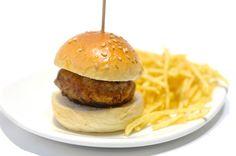 #Hamburguesita de Buey. #carne #hamburguesa #buey #patatas