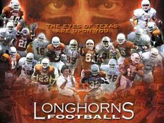 Given that timing is everything, the Lone Star State's flagship universities—The University of Texas and Texas A&M University—are once again at extremes. Could UT have picked a worse time to get its own TV sports network up and. Texas Texans, Texas Longhorns Football, Ut Longhorns, Fall Football, Football Boys, College Football, Dallas Cowboys, Football Humor, Football Program