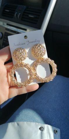 Jewelry Design Earrings, Gold Earrings Designs, Mom Jewelry, Girls Jewelry, Cute Jewelry, Fancy Jewellery, Gold Jewellery Design, Stylish Jewelry, Luxury Jewelry