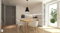 projekt mieszkania - Kuchnia, styl skandynawski - zdjęcie od Studio Architektury Loci
