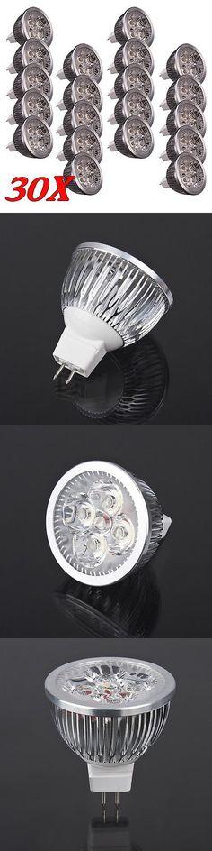 Light Bulbs 20706: 30X Bulb Mr16 4W 12V 3000K New Led Spot Light Down Lamp Energy Saving Warm White -> BUY IT NOW ONLY: $39.95 on eBay!
