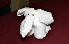 How to make a Towel Elephant