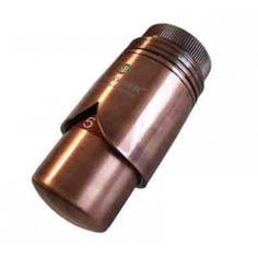 """Schlösser Thermostatkopf """"Brilliant"""" M30 x 1,5 Heimeier Antik Kupfer 6002 00012"""
