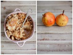 Alice's Adventures in Wonderland - #crumble #pears   #fall