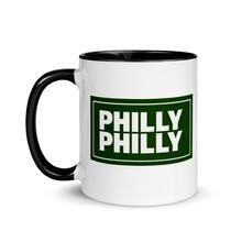 Philly Philly! Drin in style!  Add a splash of color to your morning coffee or tea ritual! These ceramic mugs not only have a beautiful design on them, but also a colorful rim, handle, and inside, so the mug is bound to spice up your mug rack.