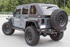 Brand New 2015 Jeep Wrangler Rubicon Unlimited! Complete with MetalCloak Overland Fenders, Wildboar hard top, AEV Suspension and Tires! Build your dream Jeep at Rubitrux! 2015 Jeep Wrangler Rubicon, Jeep Wrangler Unlimited, Jeep Jk, Jeep Truck, Dually Trucks, Ford Trucks, Bobber, Jeep Rims, 4x4
