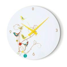 cardboard wall clock by jana