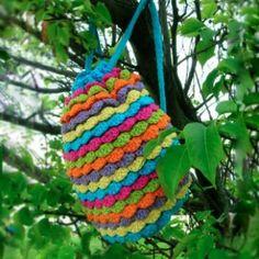 spring petals backpack crochet pattern