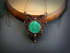 Hey, I found this really awesome Etsy listing at https://www.etsy.com/pt/listing/512861129/chrysocolla-macrame-necklace-bohemian