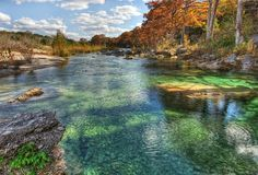 Garner State Park is located along the Frio River, north of Concan, Texas.