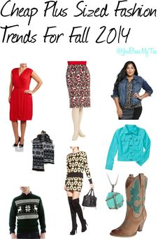 Cheap Plus Sized Fashion Finds For Fall 2014 - You Brew My Tea