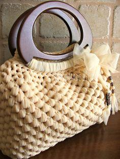 Sweet Spring Bag: versione crema....