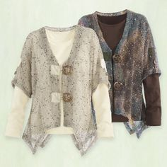 Mesh Cardigan - Casual Women's Clothing and Fashion Accessories - Exclusive Styles in Misses and Womens Plus Sizes | Serengeti