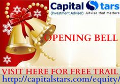 CS OPENING BELL: NIFTY SPOT UP17@8160 SENSEX UP 52 @26445 BANK NIFTY FUTURES UP 52@ 18527 Quick Trial-http://www.capitalstars.com/free-trial Register Now...!!!