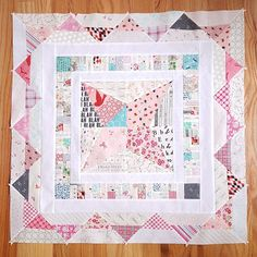A Quilter's Table: Midway Medallions