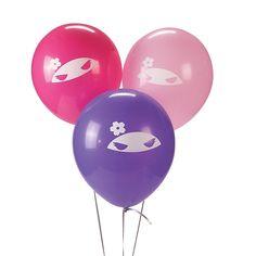 Latex+Ninja+Girl+Balloons+-+OrientalTrading.com