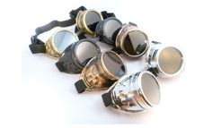Barato Óculos punk do vapor steampunk punk do vapor espelho à prova de vento lentes góticas do vintage, Compro Qualidade Óculos Escuros diretamente de fornecedores da China:   Detalhes do produto