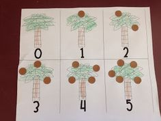 Here's a counting activity to use with the book CHICKA CHICKA 1, 2, 3 by Bill Martin, Jr. and Michael Sampson.