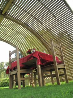 Between The House And Garden Garden Design Home Structure Shelter