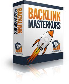 Backlink Masterkurs - Der Backlink Masterkurs ist ein Online Coaching Produkt was sich auf den Backlinkaufbau von Webseiten konzentriert.  Hauptthema: Steigerung der Rankings einer Webseite durch Backlinks.