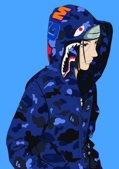 Dope anime Nike toon | Dope supreme/bape/Nike toons ...