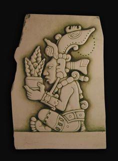 YUMKAAX Maya kültüründe tarım ve doğa tanrısı.