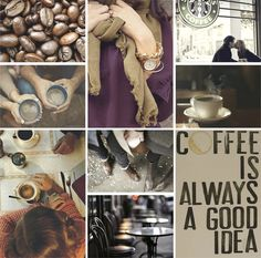 coffee is always a good idea. This reminds me of our coffee dates in Fairfax :)