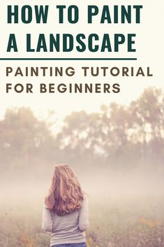 With the summer upon us it's time to get outside and paint! Learn techniques with this step by step landscape painting tutorial. Work through sketching out your painting, mixing colors for your landscape and creating great tonal value structure! Oil Painting For Beginners, Oil Painting Tips, Acrylic Painting Techniques, Watercolor Techniques, Painting Art, Watercolor Paintings Abstract, Landscape Paintings, Watercolour Tutorials, Painting Tutorials