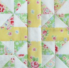 Honey's Choice.....I wouldn't do it in pastels, of course, but it's a nice simple block.