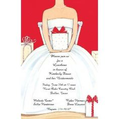 hosting a bridal shower around christmas or valentines day this is a perfect bridal shower