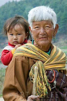 Abuela de Bhutan