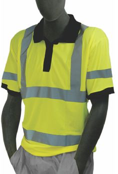 ebaeaa0e51cb Safety Shirt Majestic 75-5311 Hi Vis CL3 Safety Polo