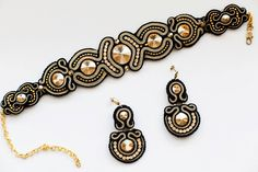 """earings and necklace """"Regina"""""""