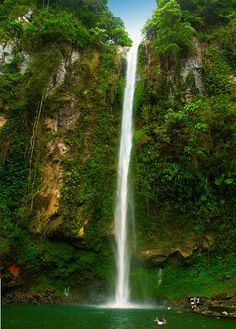 The amazing Katibawasan Falls in #Philippines. Image courtesy of Storm Crypt: http://www.flickr.com/photos/storm-crypt/2370257220/