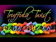 Rainbow Loom TRUFFULA TWIST bracelet. Designed and loomed by Olivia's Looms and Crafts. Click photo for YouTube tutorial. 04/03/14