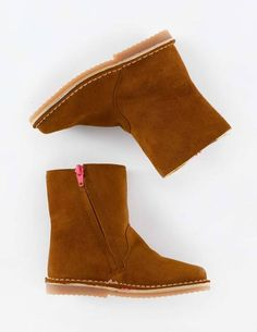 Short Leather Boots 54011 Boots at Boden