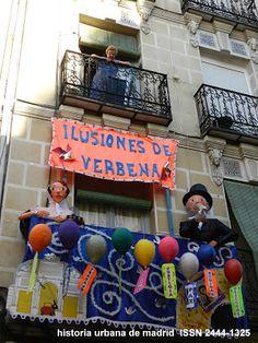 Historia Urbana de Madrid: El año de la verbena de la Paloma. Madrid, 1894