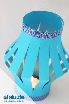 Make your own lantern - 3 DIY templates for (small) children Make Your Own, How To Make, Lanterns, Templates, Children, Creative, Paper, Home Decor, Chinese Lanterns