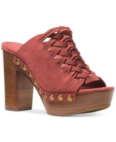 edc6a929bff Chinese Laundry Walk On Leather Platform Clog ( 65) ❤ liked on Polyvore  featuring shoes