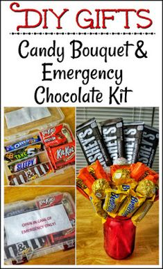 For the Love of Food: DIY Candy Bouquet and Emergency Chocolate Kit | Chart House at Tower of the Americas