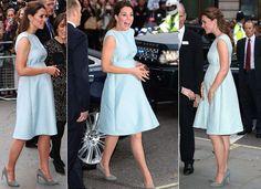 Ronda Kate Middleton: com uma série de vestidos, a duquesa mostra como mantém seu estilo de grávida no verão   Chic - Gloria Kalil: Moda, Beleza, Cultura e Comportamento