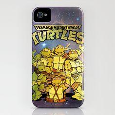 Teenage Mutant Ninja Turtles iPhone Case by Nerdy Girl Swag - $35.00