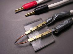 Resistance soldering diy . Very cool
